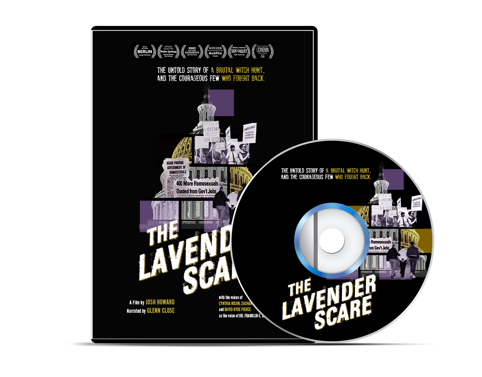 The Lavender Scare DVD/Blueray