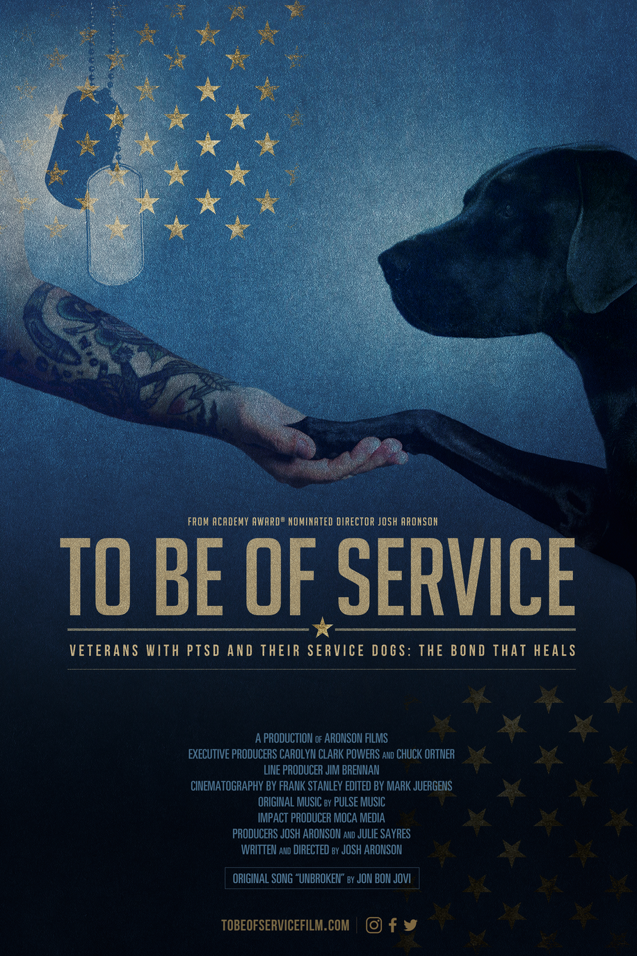 To Be of Service: Theatrical Poster