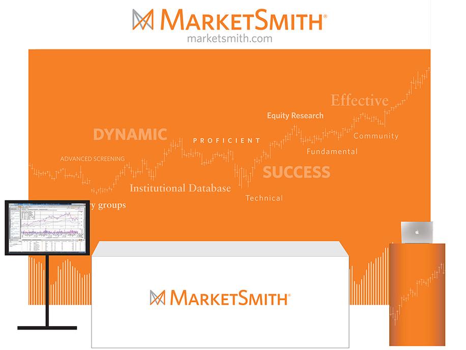 MarketSmith Trade Show Graphics