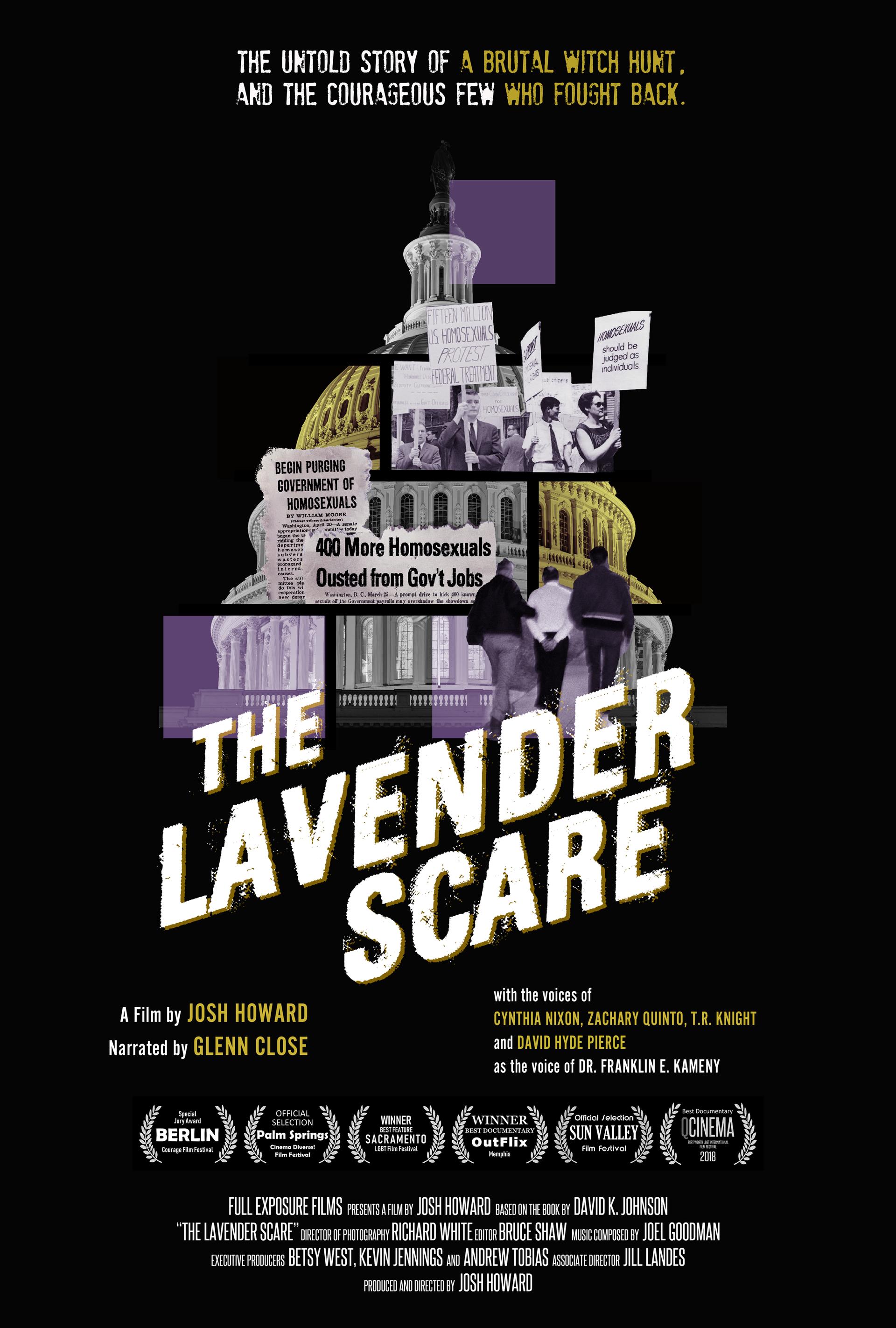 Lavender Scare Poster