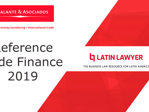 """Trade Finance 2019"" in Latin Lawyer."