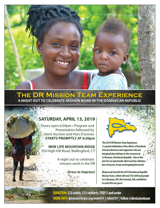 DR MISSION TEAM EXPERIENCE 2019