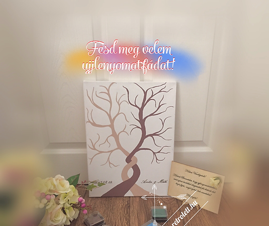 ujjlenyomatfa festő workshop