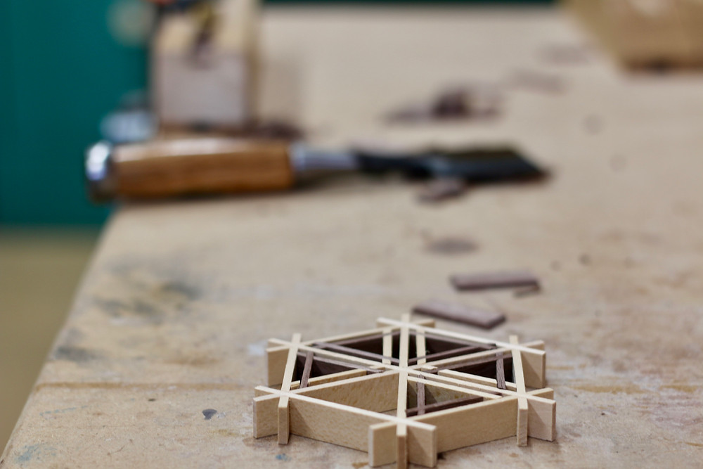 Kumiko Japanese wood workshop by Adam Bergeron