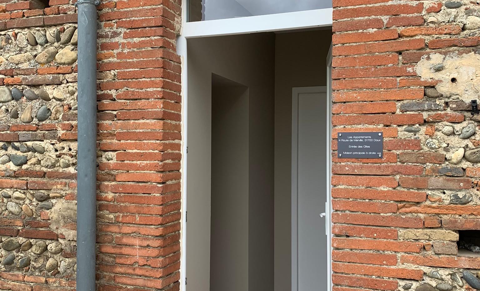 Apartments entrance