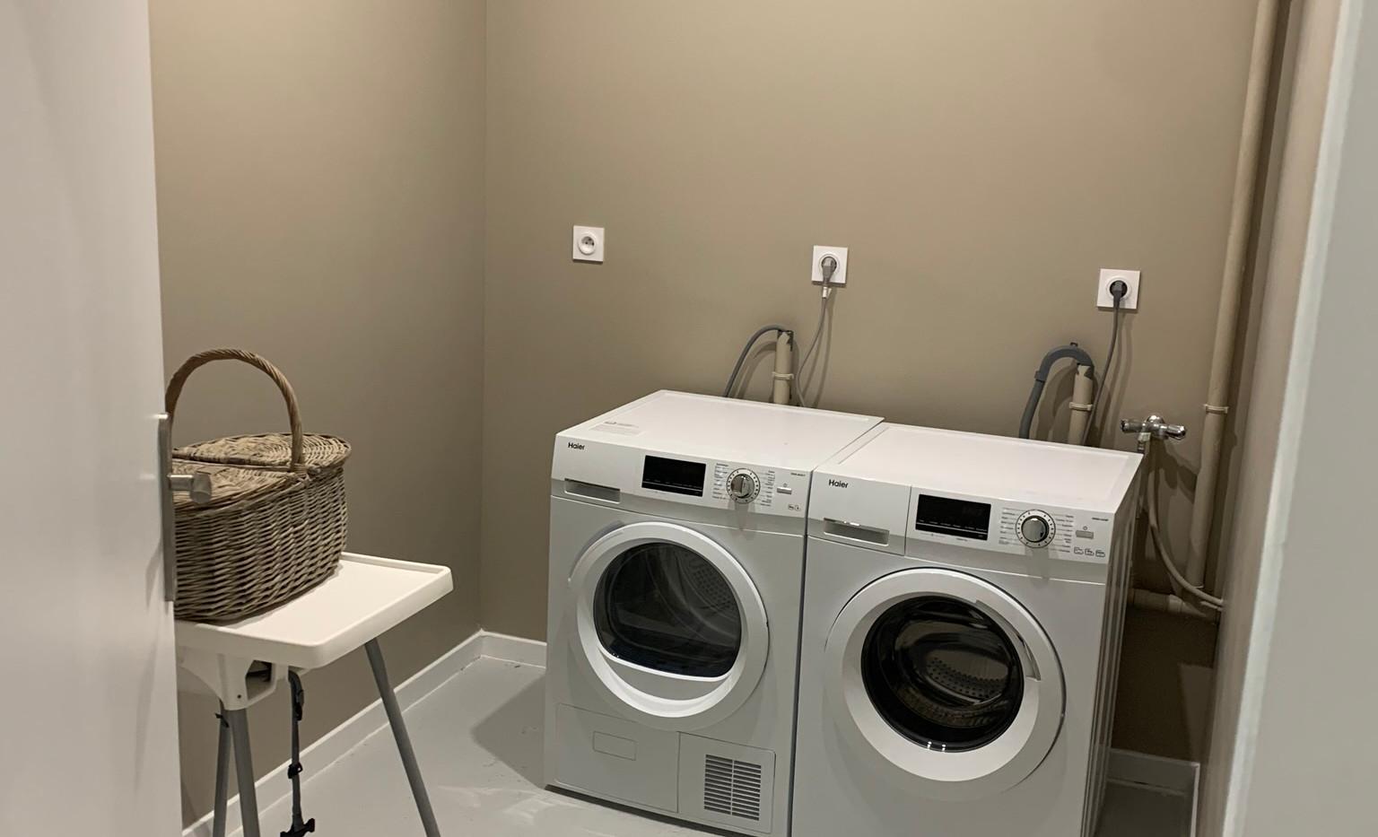 Apartments laundry