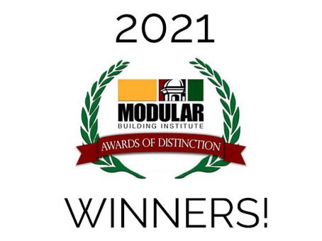 "MODLOGIQ WINS 5 ""AWARDS OF DISTINCTION"" AT WORLD OF MODULAR CONFERENCE"