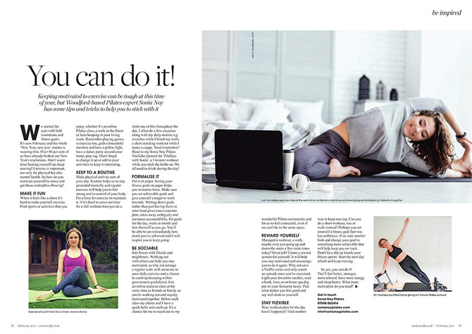 Press: You can do it! - West Essex Life