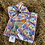 Thumbnail: Naomi scrunchie (rainbow hearts) (large)