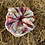 Thumbnail: Gwen scrunchie (pink floral) (large)