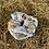 Thumbnail: Gem scrunchie (geometric) (large)