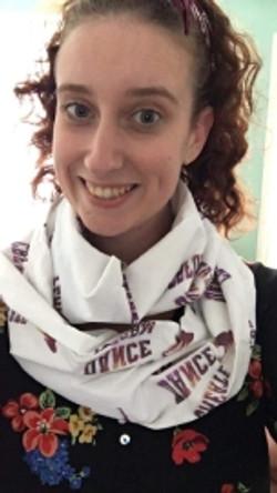Dance teacher scarf