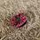 Thumbnail: Red tartan Teri Scrunchie