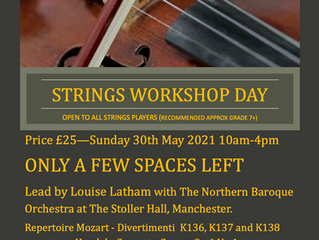 Strings Workshop Day (and AGM), 30th May 2021