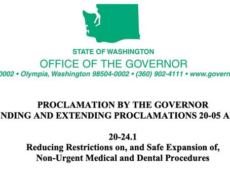 Safe Expansion Of Non-Urgent Medical Care