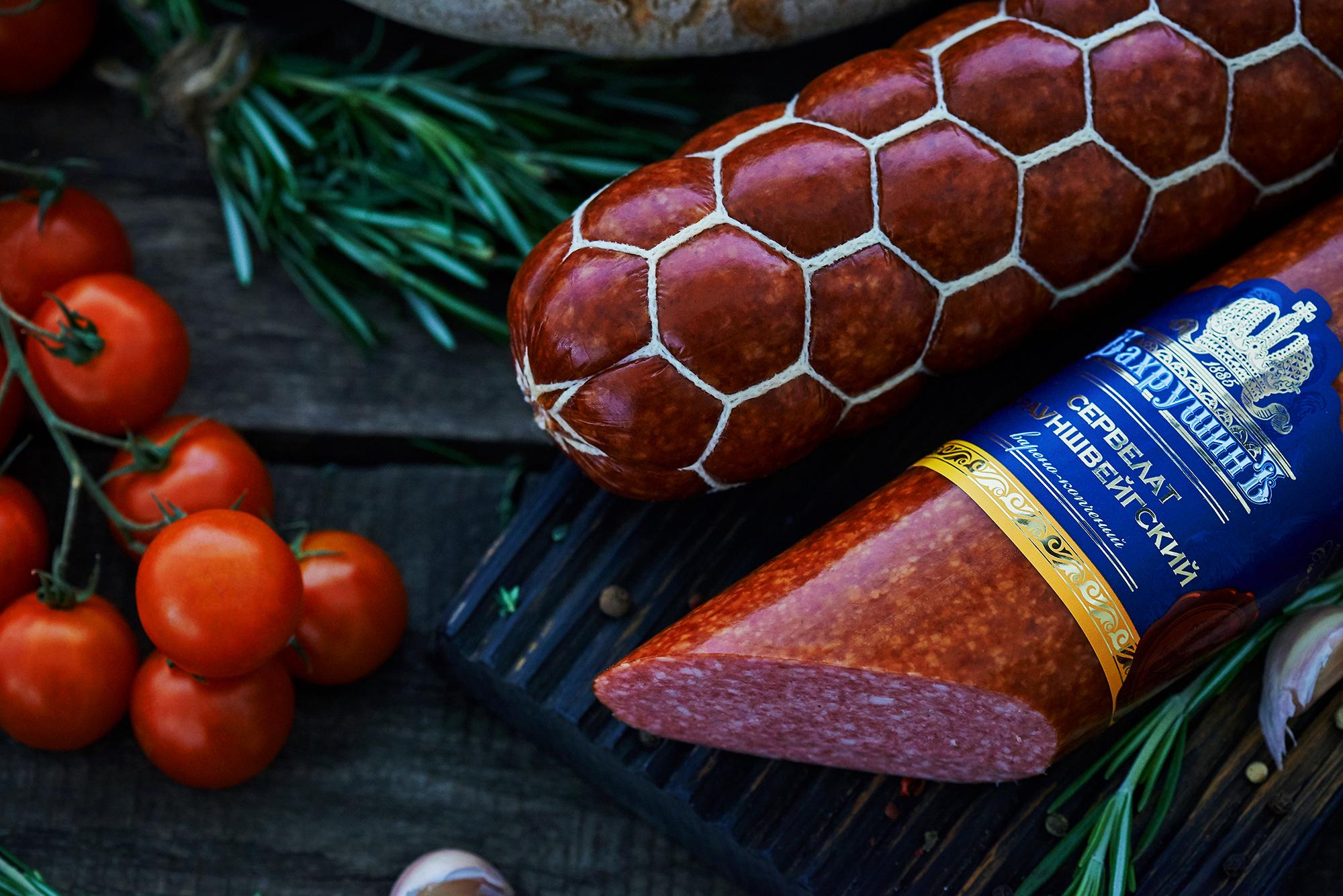 Варено-копченые колбасы Бархушинъ