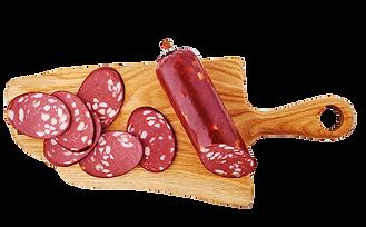 Сырокопченая колбаса БахрушинЪ