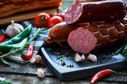 Вареная и копченая колбаса Бахрушин