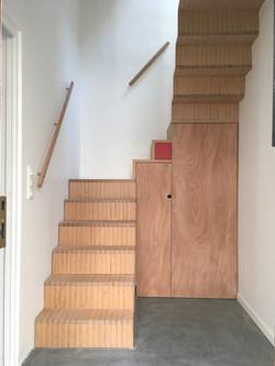 escalier rangements