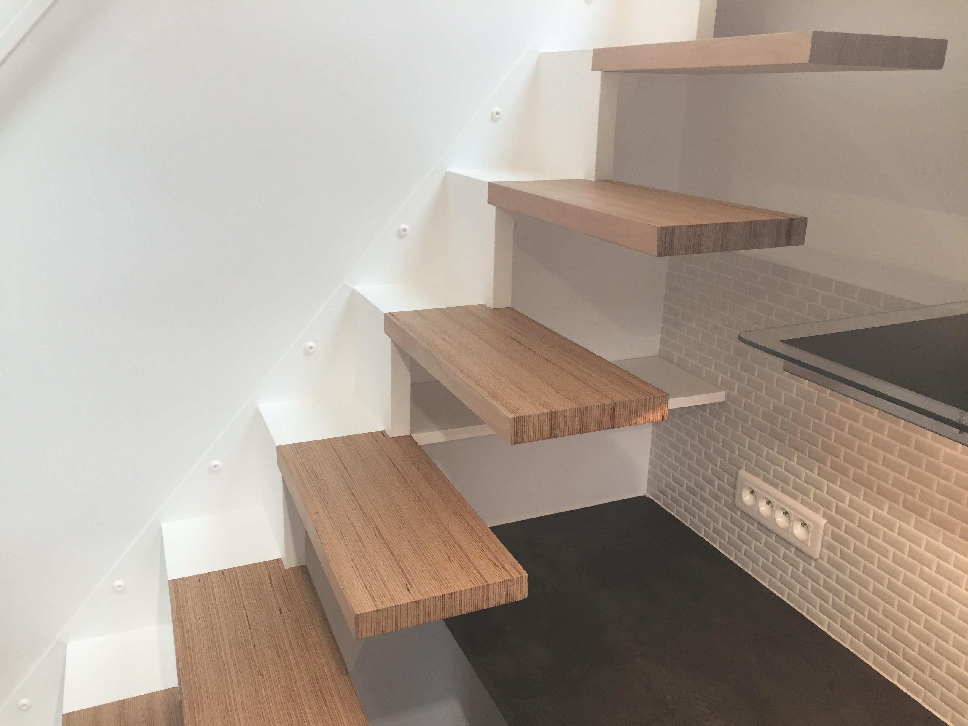 escalier AILE L BauBuche