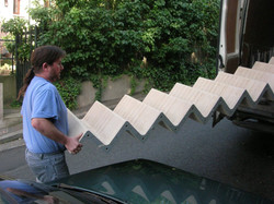 livraison escalier Zazou