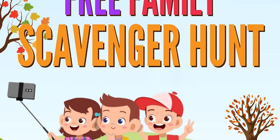Free Family Scavenger Hunt