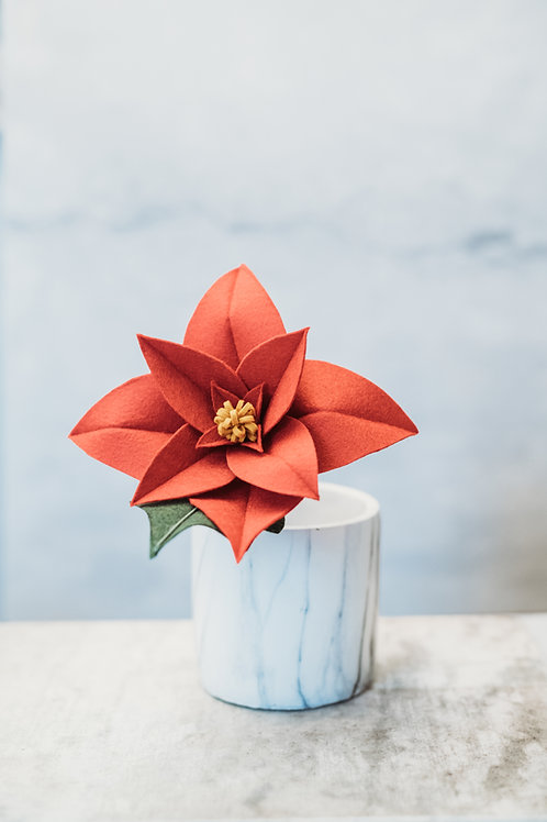 Make Your Own Poinsettia Downloadable/Printable Tutorial (Beginner)