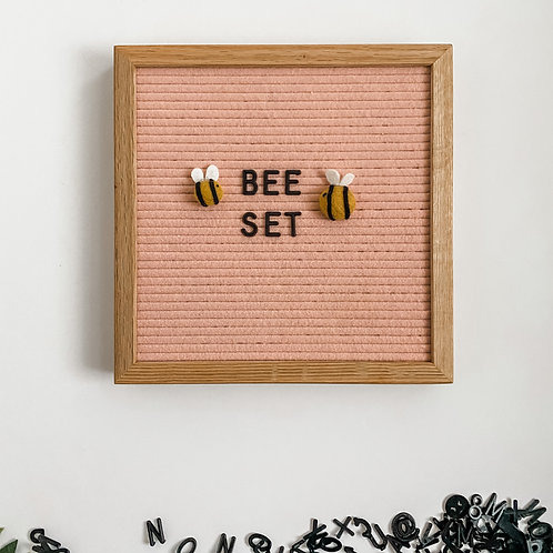 Letterboard Accessories - letterboard ornament - Spring - Bee Set