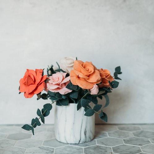 Make Your Own Rose, Bud, & Eucalyptus Downloadable/Printable Tutorial