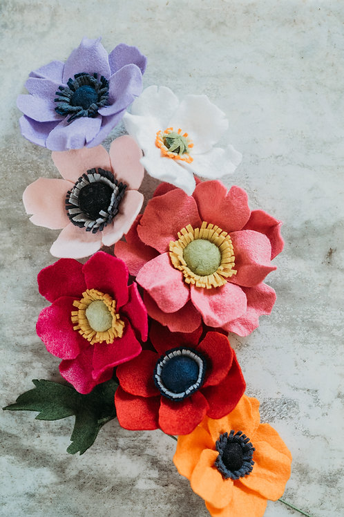Make Your Own Anemone/Poppy Downloadable/Printable Tutorial