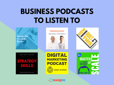 Business Podcasts to Listen To