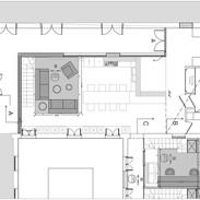 L'appartement pour colocataires