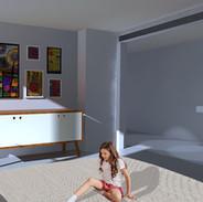 La remise transformée en habitation T4