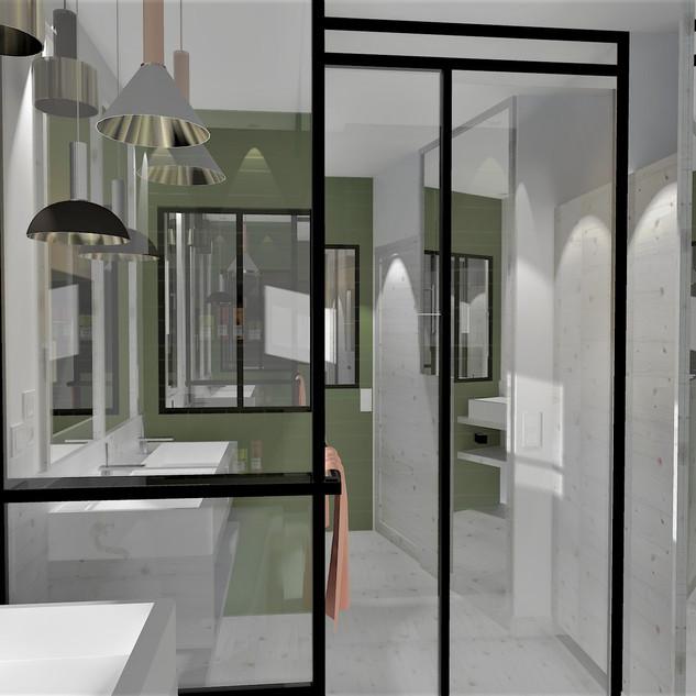 Salle de bain : Projet retenu
