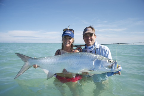 Tarpon on the fly!