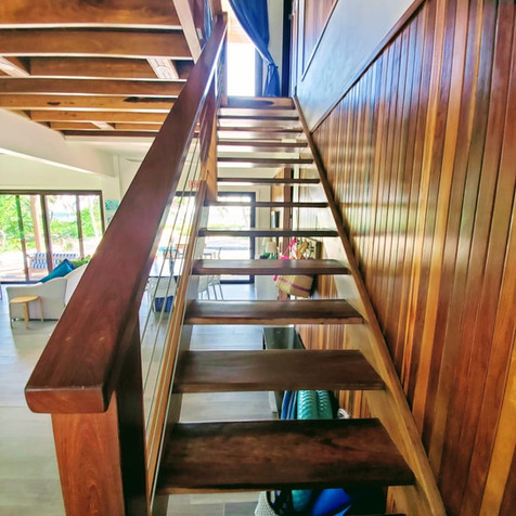 Beautiful Wood Stair Case