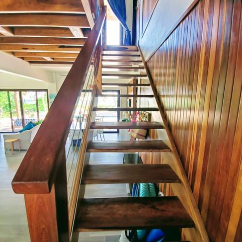 Beautiful Wood Stair Case