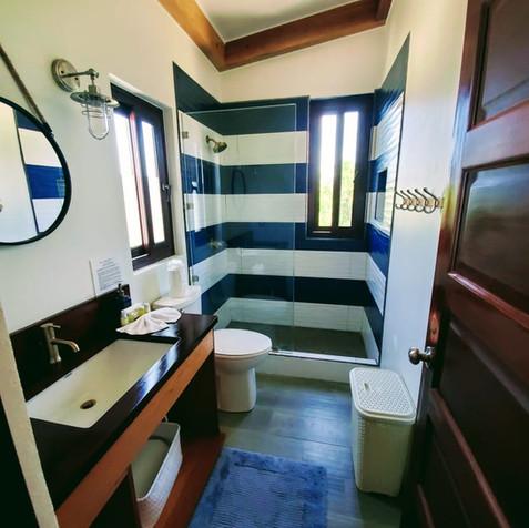 Upstairs north bathroom