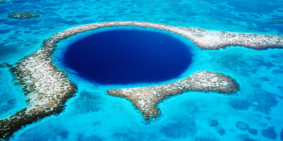 Visit the Blue Hole