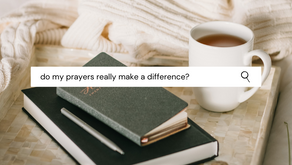 Do my prayers really make a difference?