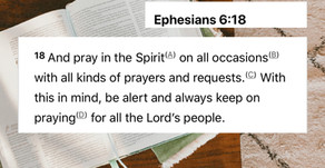 How do we read the Bible? Pray it!