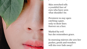 For the stretch marks under her eyes