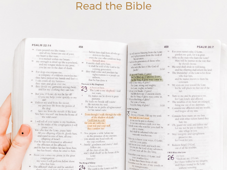 Why read the Bible? 5 Reasons to read the Bible