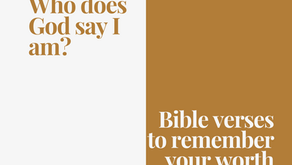 Bible Verses to Memorize to Remember your Worth