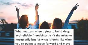 7 Standards for Friendship: Standard Six