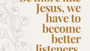 The Spiritual Discipline of Listening