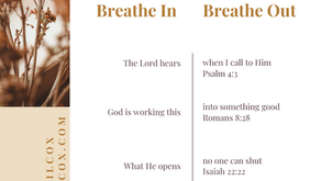 5 Breath Prayers from Scripture (Part 2)