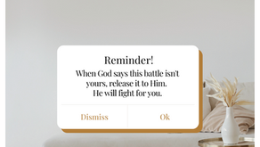 Are you fighting a battle that isn't yours?