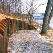 Clinton Lake Retaining Wall