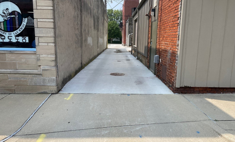 Monticello Downtown Alley Improvements